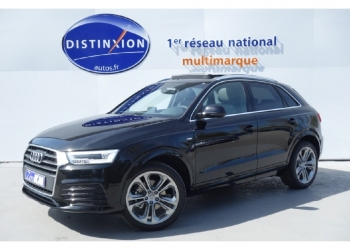<strong>AUDI Q3</strong><br/>2.0 TDI 184 ch S tronic 7 Quattro