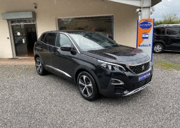 <strong>PEUGEOT 3008</strong><br/>Puretech 130ch S&S BVM6 GT Line + Grip Control